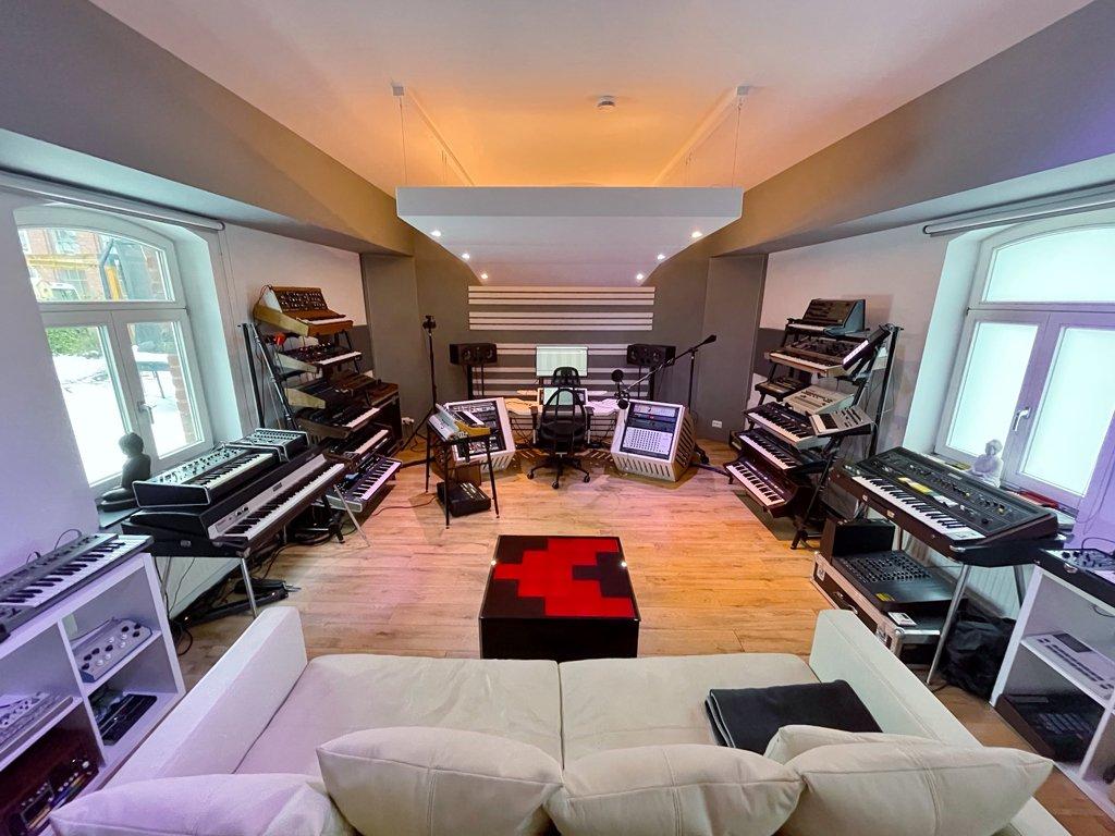 Marc Romboy Studio Interview.