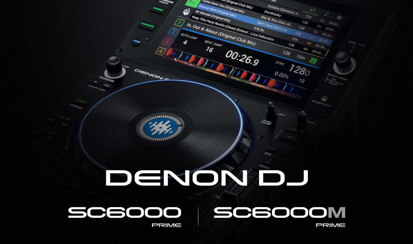 Denon DJ: Mediaplayer mit vollständiger Serato Integration