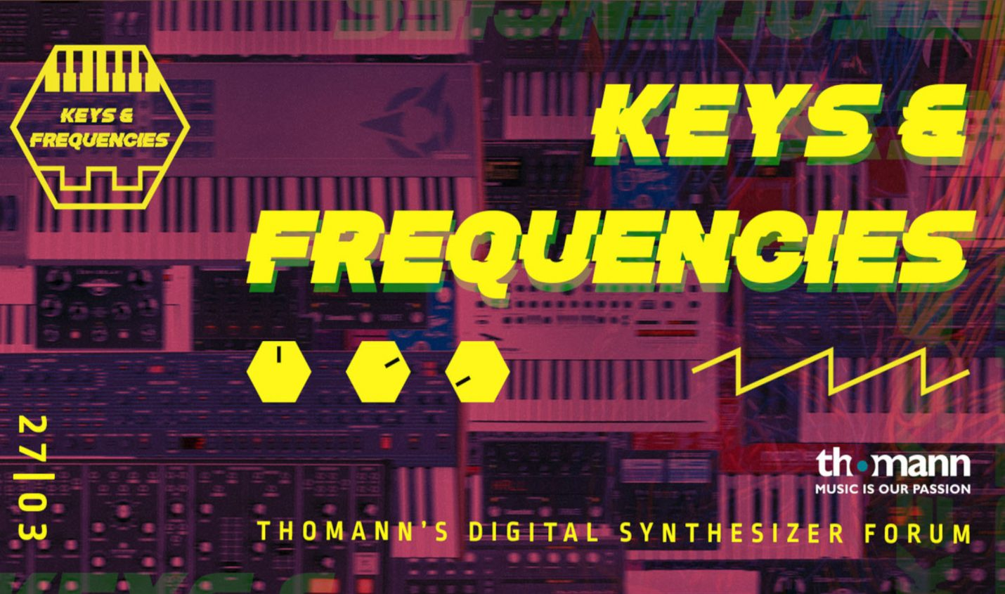 Thomann Keys & Frequencies: Online Synthesizer-Event Ende März