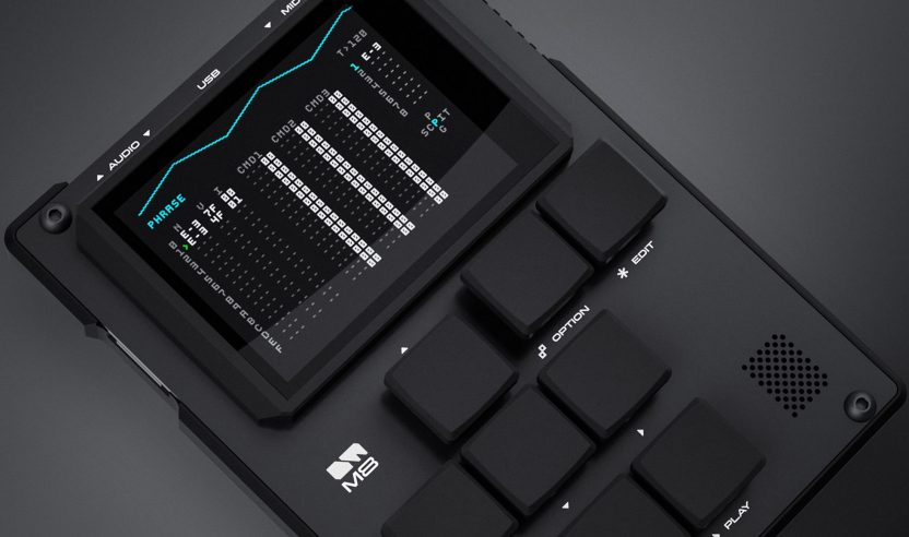 Dirtywave M8: Kompakter Handheld-Tracker, Synthesizer und Sampler