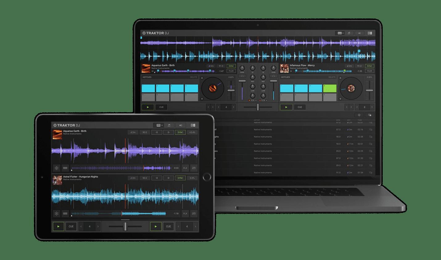 Test: Native Instruments Traktor DJ 2 / kostenlose DJ-Software