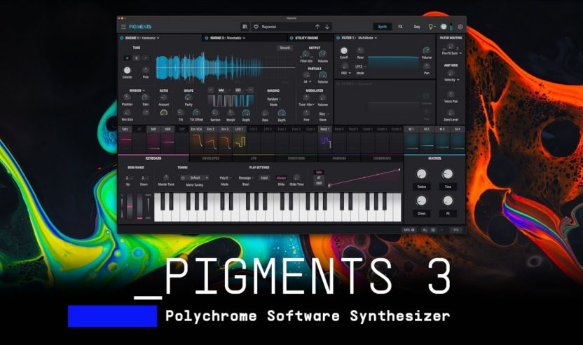 Arturia stellt Software-Synthesizer Pigments 3 vor
