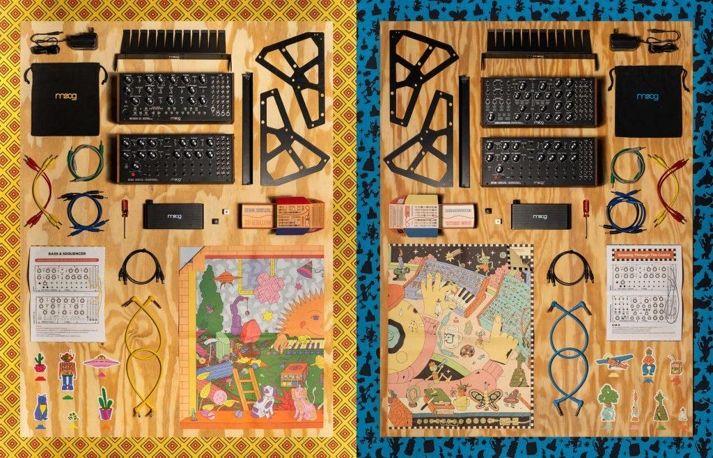 Moog set 1 und 2