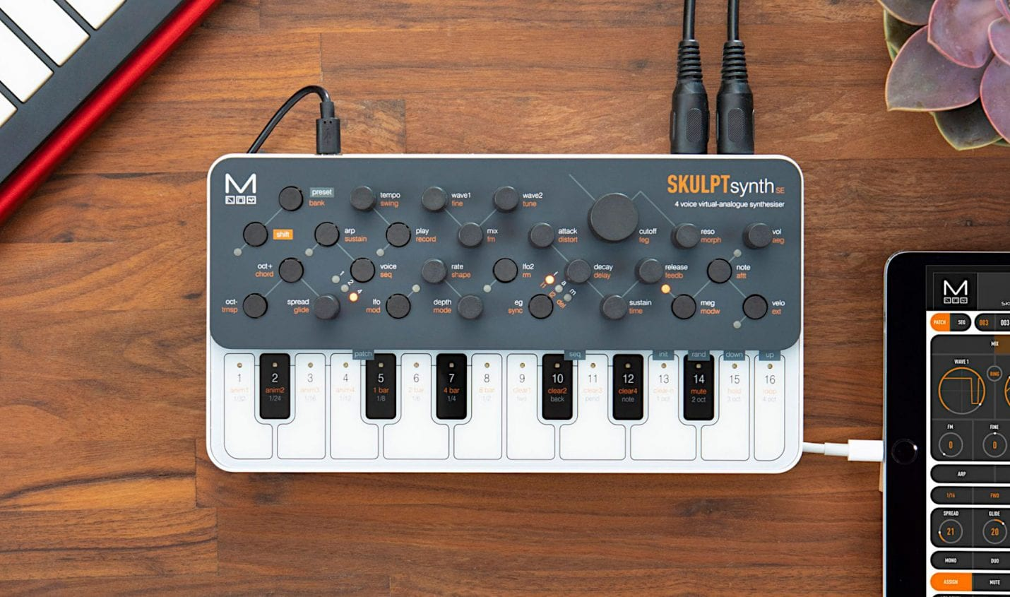 SKULPTsynth SE: Vierstimmiger VA-Synthesizer von Modal Electronics