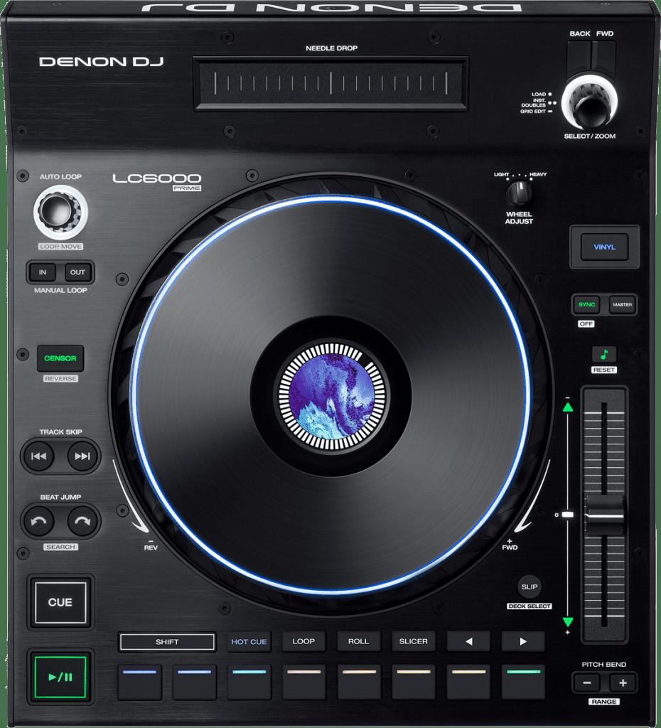 Denon DJ LC6000 von oben.