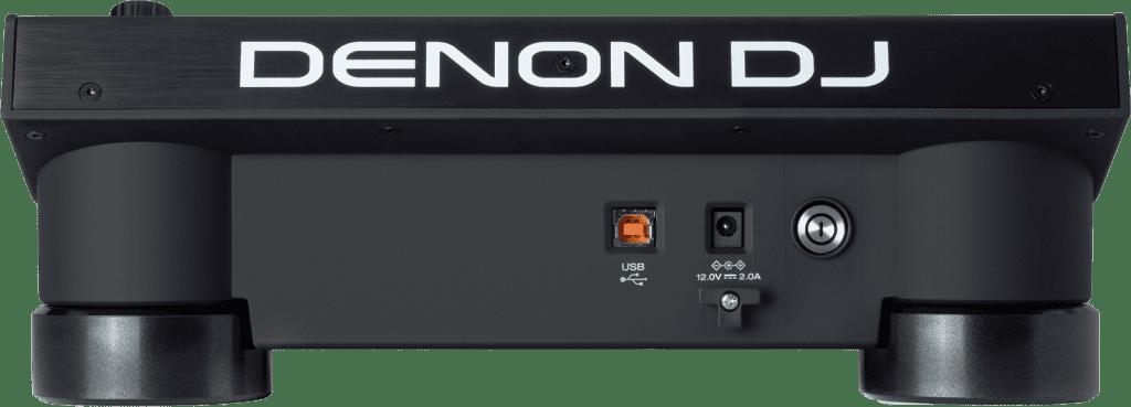 Denon DJ LC6000 Anschlüsse.