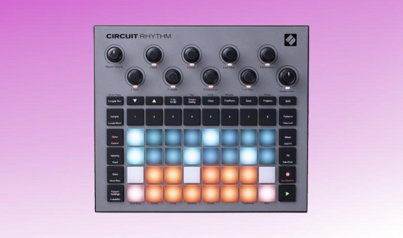 Novation Circuit Rhythm: Sample-Groovebox offiziell vorgestellt