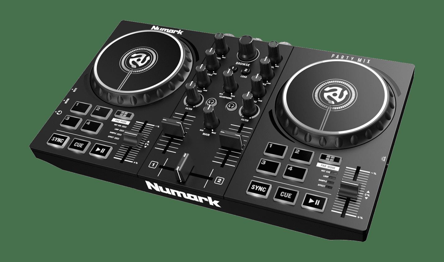 Test: Numark Party Mix II / Bedroom-Controller für DJs