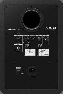 Pioneer VM-70 Rückansicht.