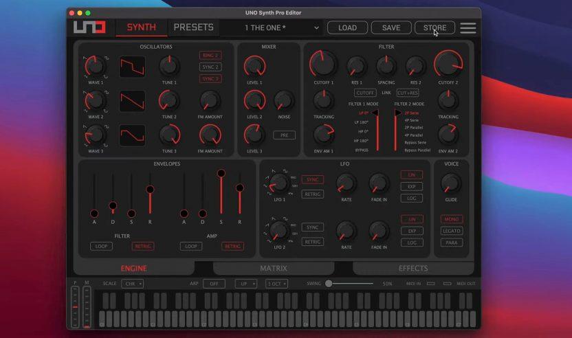 IK Multimedia: UNO Synth Pro Editor vorgestellt