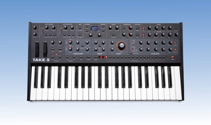 Sequential Take 5: Kompakter analoger Synthesizer vorgestellt