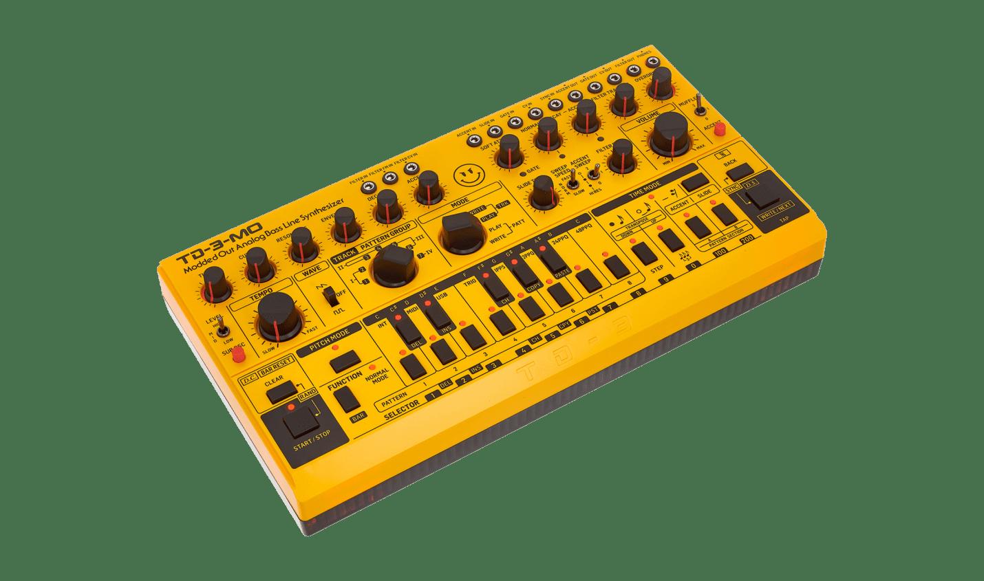 Test: Behringer TD-3-MO / analoger Basssynthesizer
