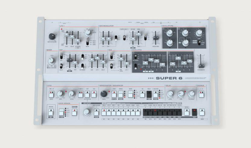 Superbooth 2021: UDO Audio Super 6 als Desktop-Synthesizer vorgestellt