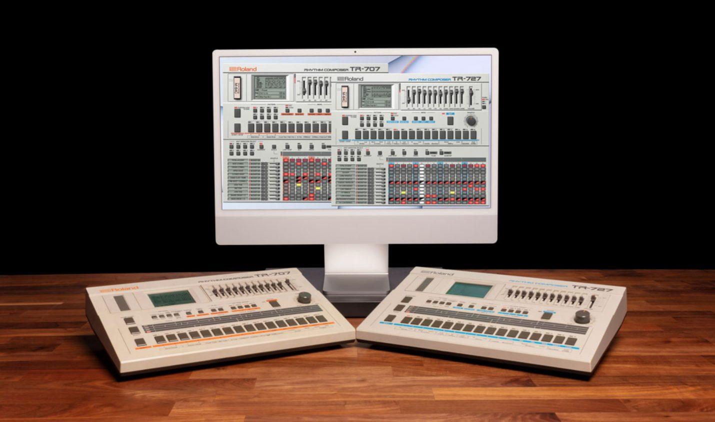 Roland: TR-707/TR-727 Software Rhythm Composer neu in der Cloud