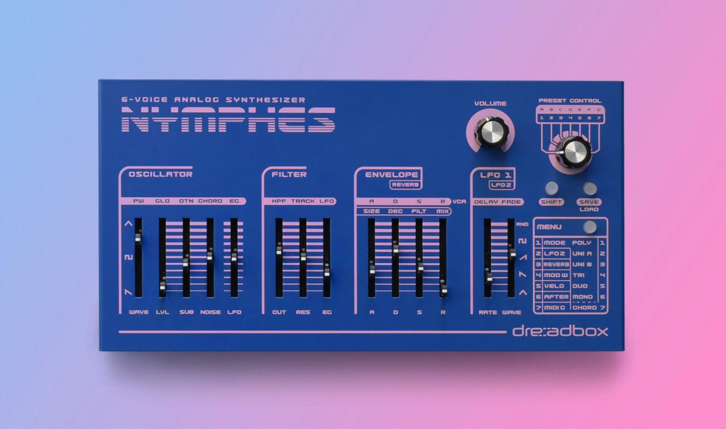 Superbooth 2021: Dreadbox Nymphes sechsstimmiger analoger Synthesizer vorgestellt