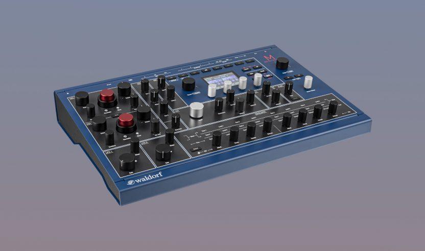 Superbooth 2021: Waldorf M - Neuer Wavetable Synthesizer ab sofort erhältlich