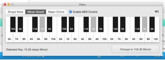 Mixed in Key 6.1 - Piano