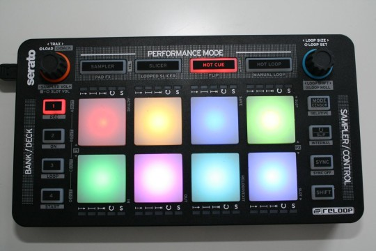Reloop Neon - Hotcue-Modus