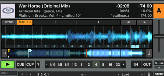 Traktor Pro Freeze Mode