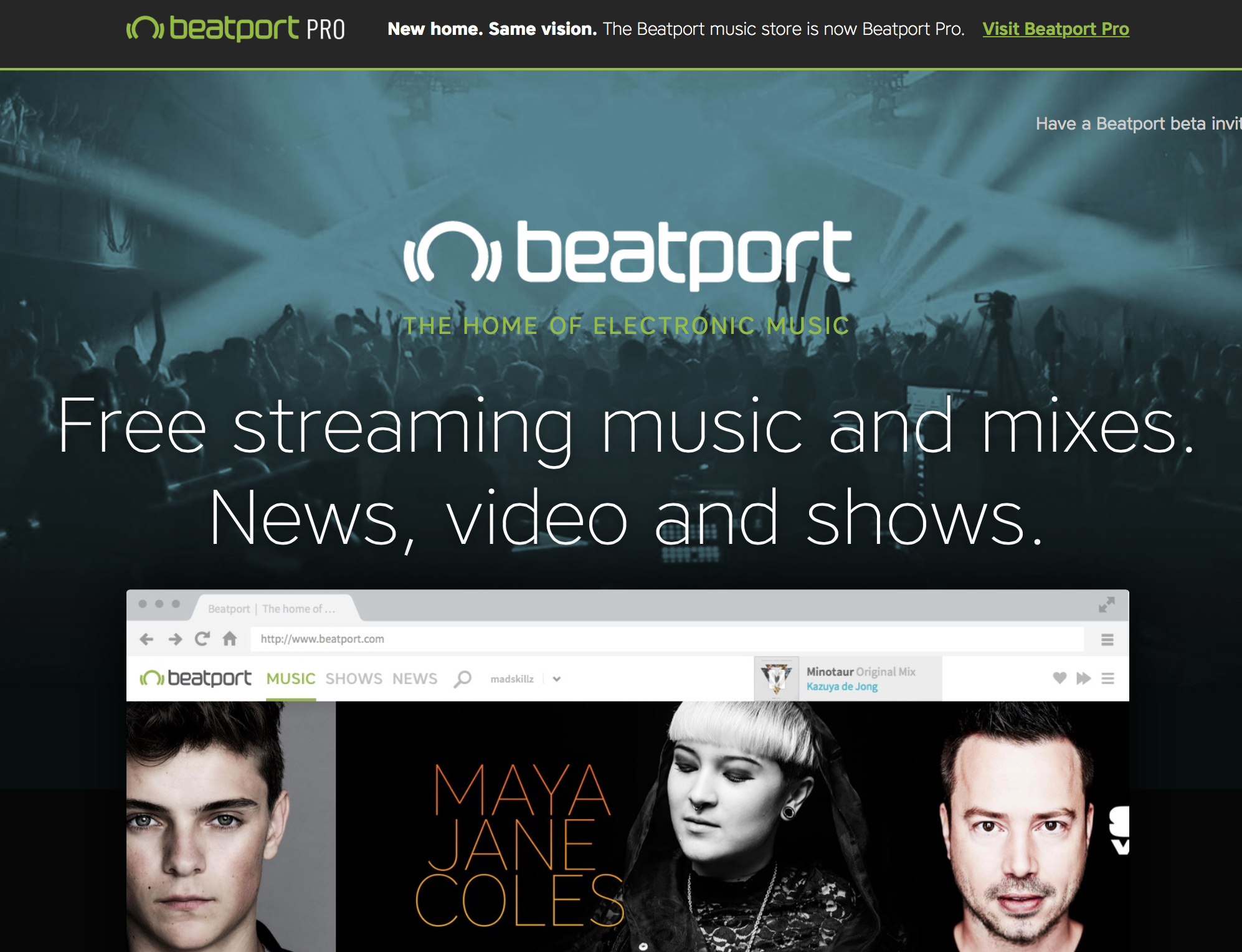 Beatport Streamingdienst