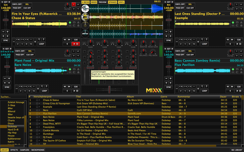 Mixxx 1.12