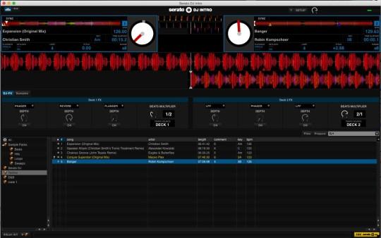 Serato DJ Intro befindet sich im Lieferumfang