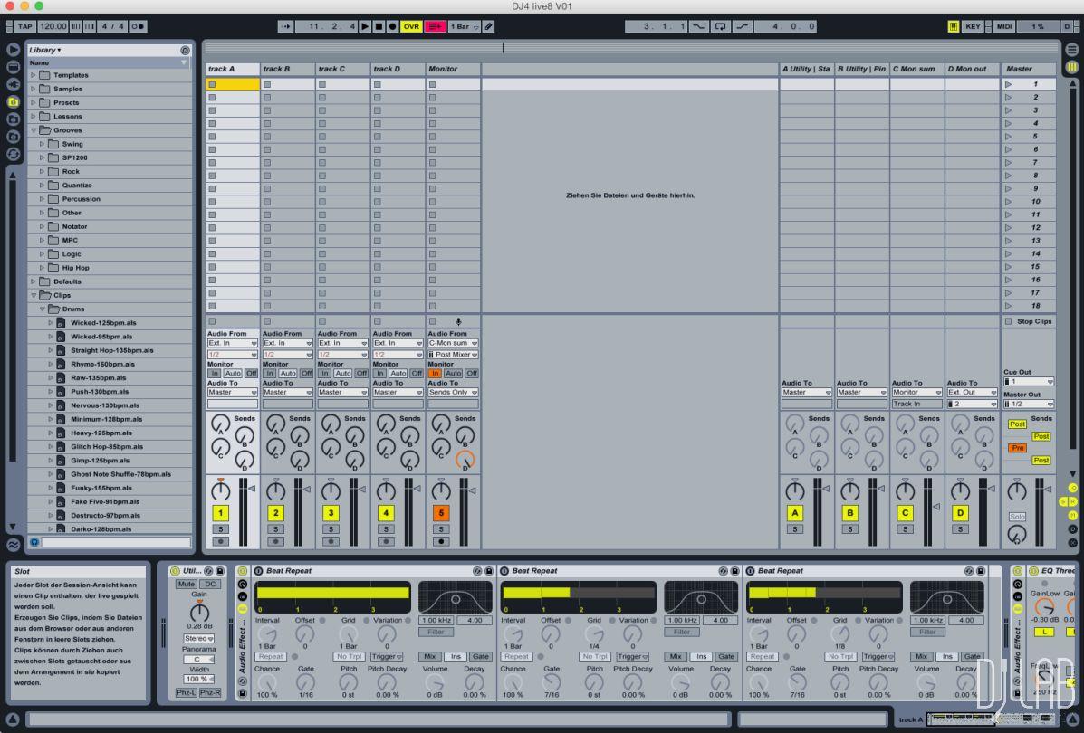 Faderfox DJ4 - Ableton Live Setup