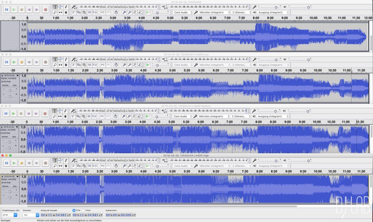 DJ-Mixe im Vergleich