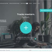 Online Masteringdienst LANDR