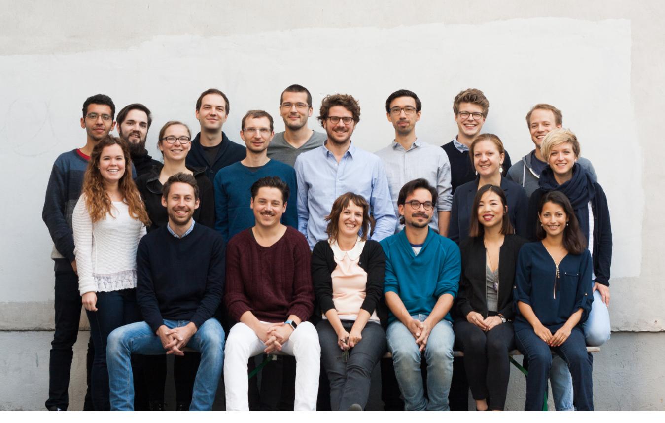 Das Mitarbeiterteam von Mimi Music Technologies