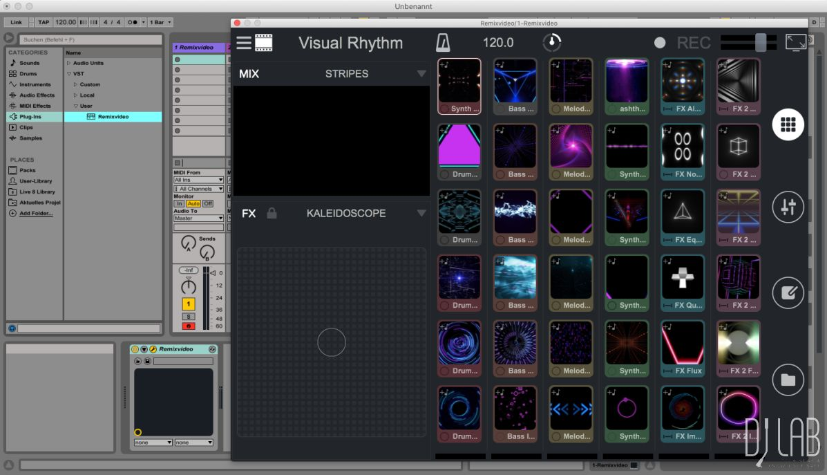 Remixvideo als Plug-in