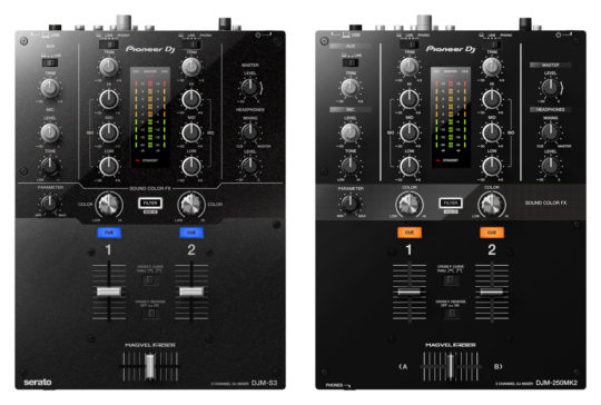 DJM-S3_vs_DJM250MK2