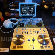 Vestax Spin & iPad