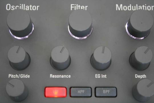 Korg Electribe - Filter