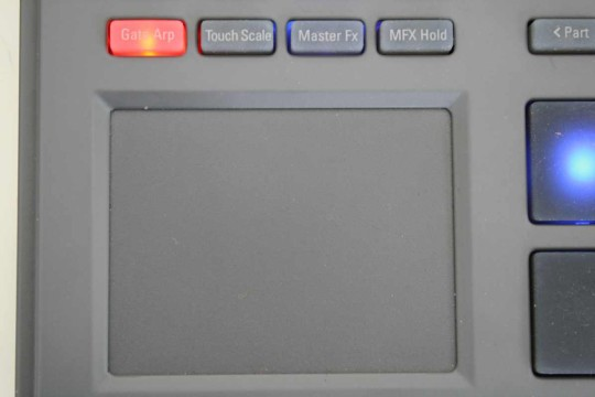Korg Electribe - XY-Touchpad