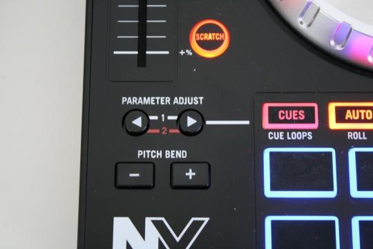 Parameter Adjust = Flip Tasten