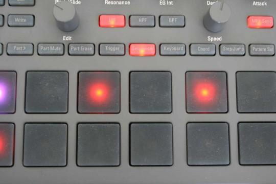 Korg Electribe - Sequenzer