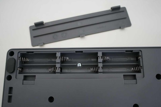 Korg Electribe - Batteriefach