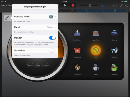 Egoist - Inter-App Audio