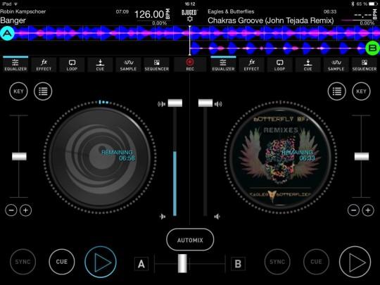 DJUCED iOS App