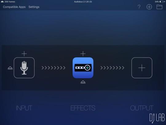 Audiobus erlaubt die einfache Verschaltung von Audiosignalen