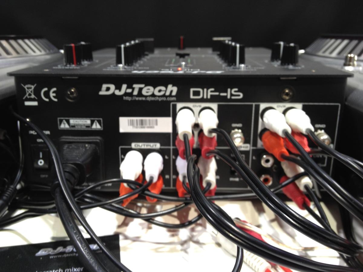 DJ TechTools - DJ Tech DIF-1M Mixer