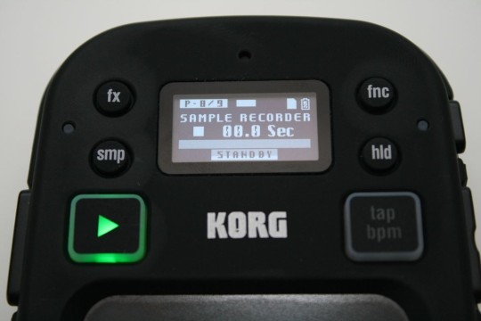 Korg Kaosspad mini 2 S - Sample Recorder