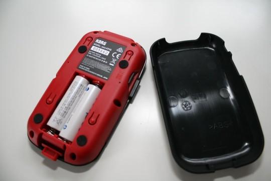 Korg Kaosspad mini 2 S - Batteriefach