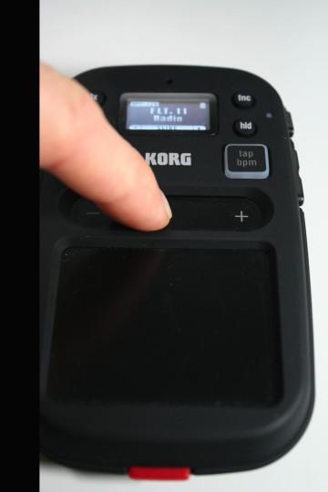 Korg Kaosspad mini 2 S - Touchstrip