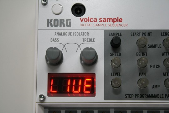 Volca Sample - EQ
