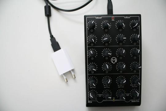 USB Power via Smartphone-Netzteil