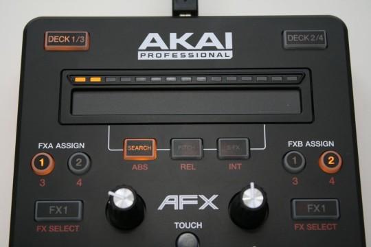 AKAI AFX - Touchstrip