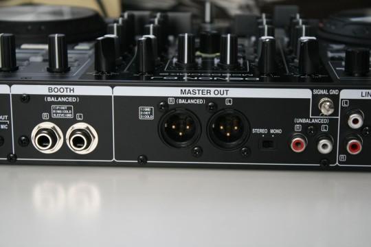 Denon MC6000 MK2 - Ausgänge