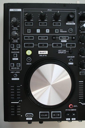 Denon MC6000 MK2 - neues Deck-Layout